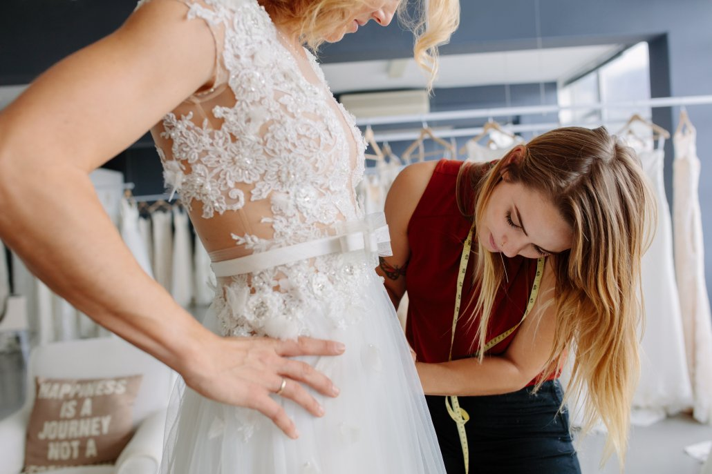 Private Fittings for Brides