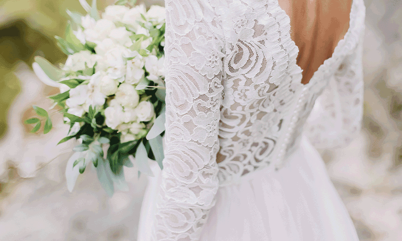 Bridal Gown Cleaning & Preservation