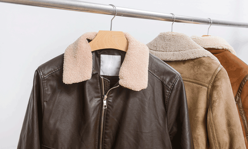 Dry Cleaning for Leather & Suede