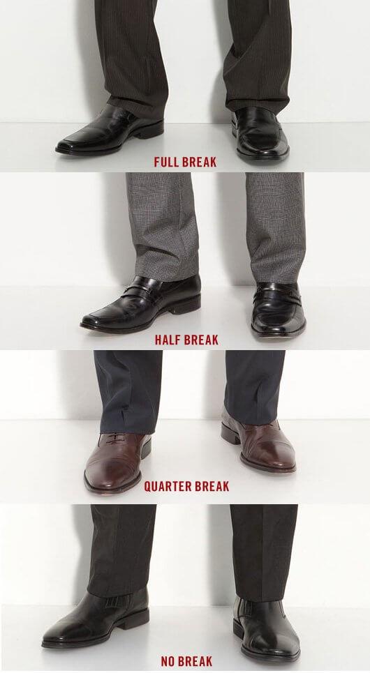 Pant Length Break Guide